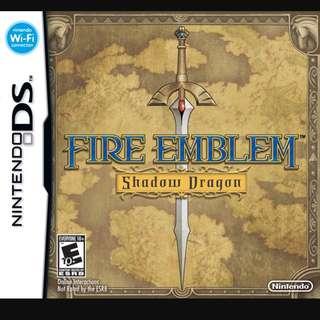 WTB: Nintendo DS Fire Emblem: Shadow Of Dragon