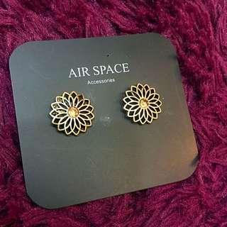 Air Space 耳環 雕花