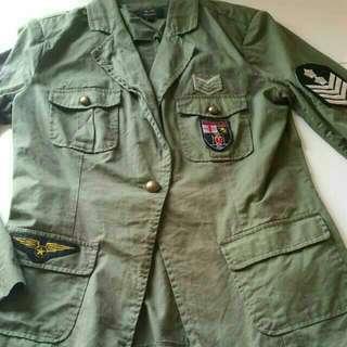 Ice Army Style Jacket