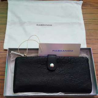 (Reserved)Brand New Rabeanco Black Long Wallet