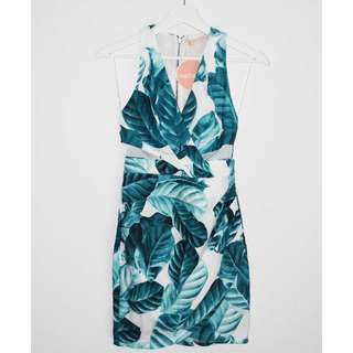 BNWT Paradisco Cut Out Patterned Dress - Size 6