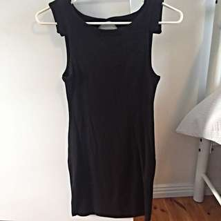 KOOKAI COTTON DRESS WITH CUT OUT BACK