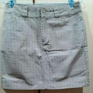 時尚方格短裙