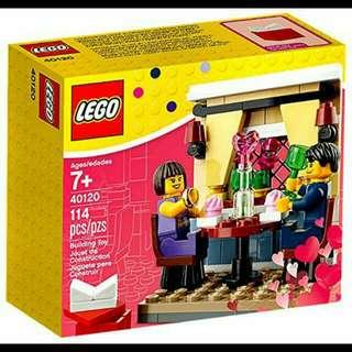 Lego Seasonal Valentine's Day Dinner 40120