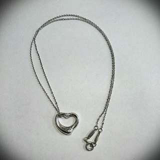 Tiffany&Co. 經典款鑽石心型純銀項鍊