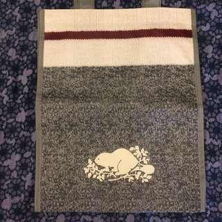 全新🍁ROOTS🍁🌿VIP 購物袋 、手提袋 (大 中 小)芝麻灰 ...數量有限5/1慶勞動節優惠