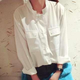 氣質女孩一定要有的白色襯衫 棉質襯衫 長袖