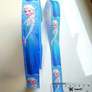 Pretty Elsa Ribbon Vertical