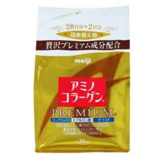 明治 膠原蛋白 黃金頂級版