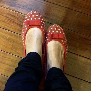 Keds法國風娃娃鞋(復古)
