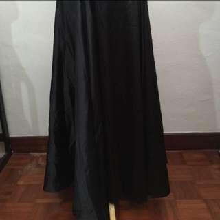 XXL Princess Satin Long Skirt