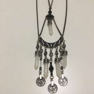 Body Chain/ Double Chain Beaded Neclace