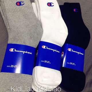 Champion 冠軍襪 毛巾底 重磅 厚襪 除臭