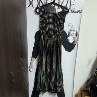 全新格紋長裙