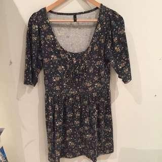 Miss Shop Floral Dress Size 10