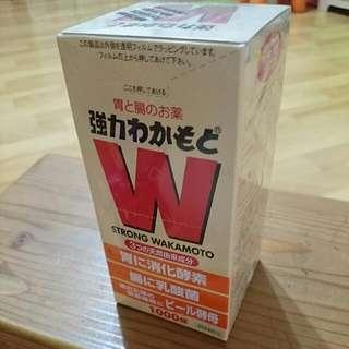 【日本帶回】強力wakamoto 1000錠