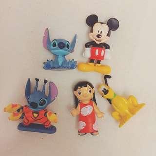 Tomy絕版迪士尼公仔組合5