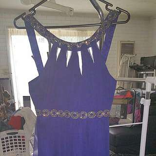PRICE DROP!!! Size 8 Forever New Blue Evening Cocktail Dress!