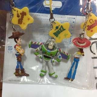 東京迪士尼 玩具總動員吊飾組