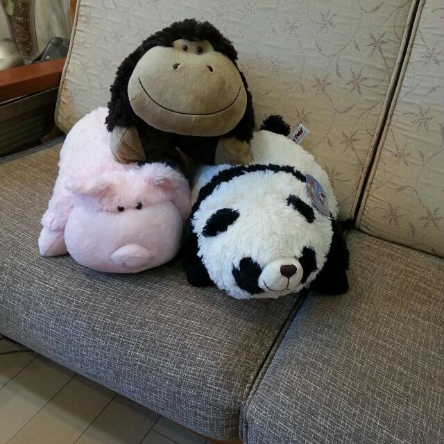 3款全新的Pillow Pees正版抱枕一起便宜賣