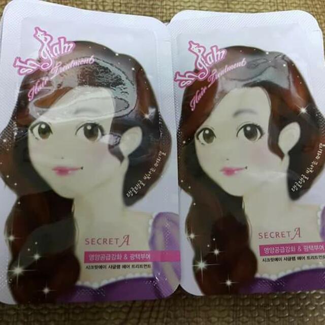 韓國 100%正韓「SECRET A」蒸氣護髮膜 護髮霜