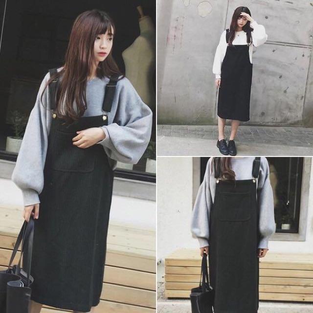超顯瘦韓版吊帶裙❤️