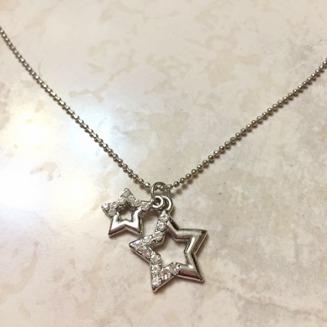 雙星時尚項鍊