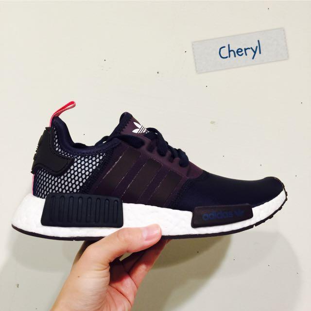 Adidas NMD R1少見的黑粉配色
