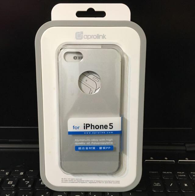 《全新》Aprolink iPhone 5兩件式鋁合金外殼