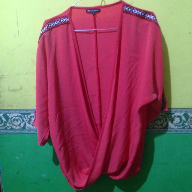 batwing/outerwear/blouse COLORBOX