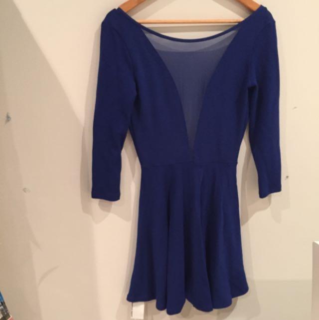 "Brand New: American Apparel Skater Dress ""L"""