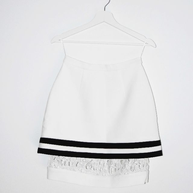 BNWT Cameo 'Parliament' Double Layered Skirt - Size S