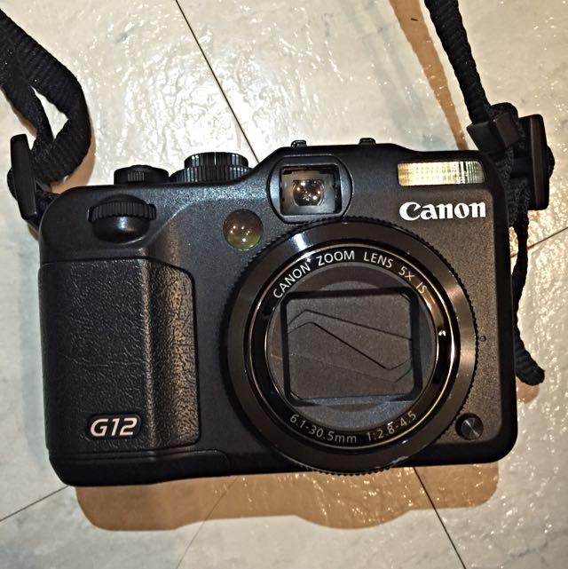 Canon相機 PowerShot G12