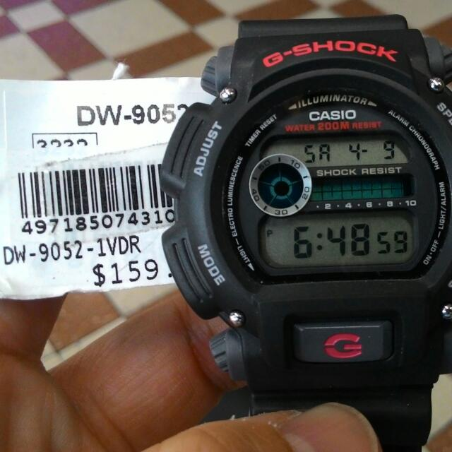 Casio G Shock DW 9052-1VDR (Clearance Sale) 7b62f4b66b6