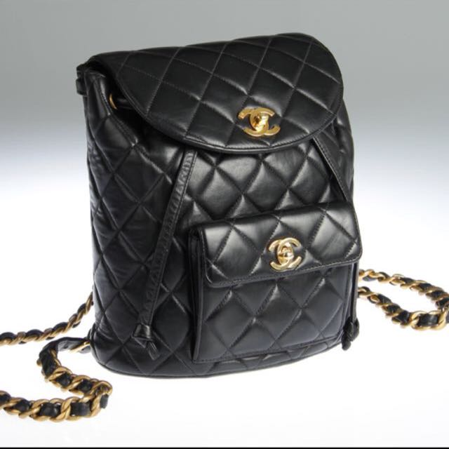 80fe623f215d Chanel Inspired Backpack, Women's Fashion on Carousell
