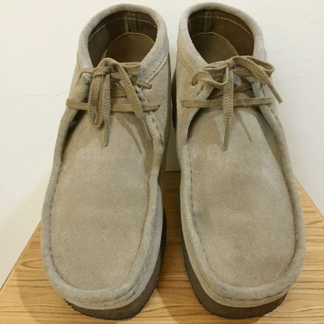 Clarks Originals Wallabee袋鼠鞋