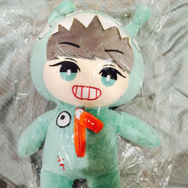 EXO外星燦烈娃娃
