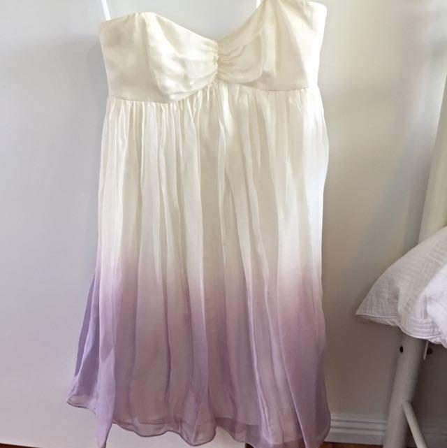 FOREVER NEW 100% SILK DRESS