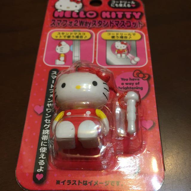 (降價!)正牌Hello kitty 三用卡哇依防塵塞