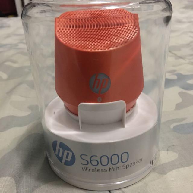 On Hold 🙅 Hp S6000 Wireless Mini Speaker