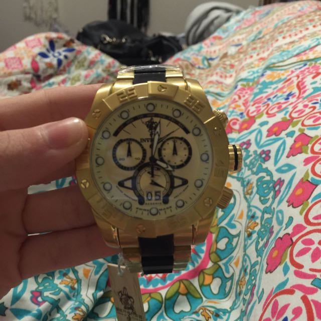 Invicta Gold Watch BRAND NEW!!!