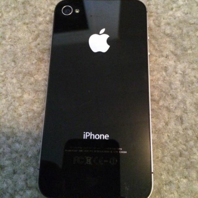 IPhone 4 16GB BLACK ORIGINAL APPLE MYSET SECONDHAND