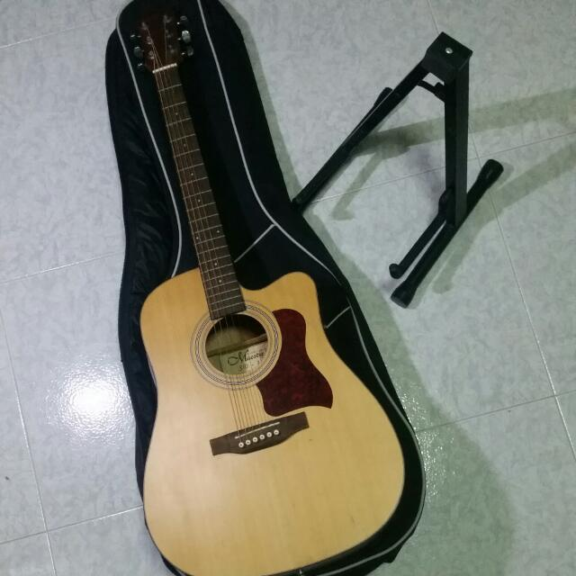 Maestro Acoustic Guitar Sd 1 Bag Stand