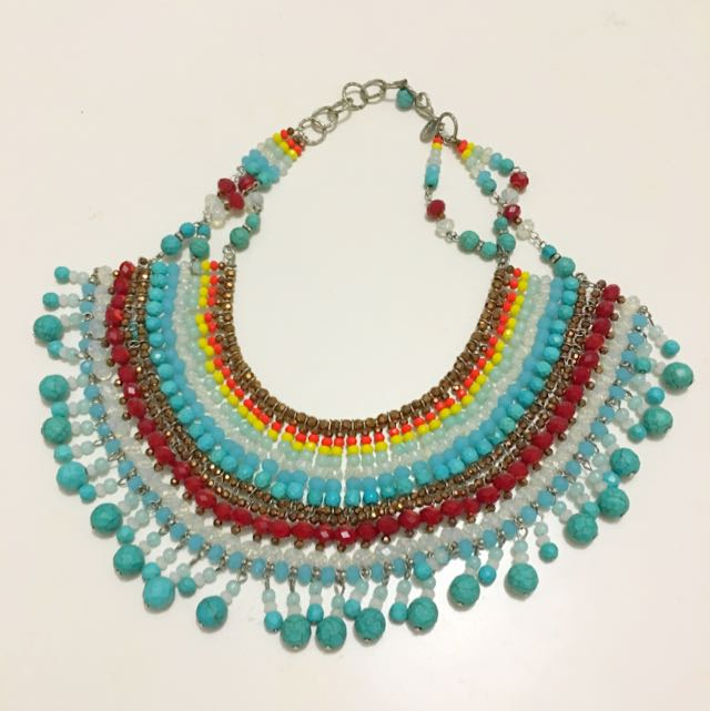 Multicolour Beaded Necklace