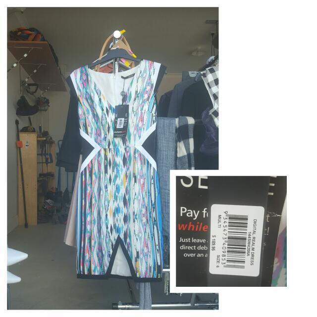 NEW Seduce Digital Realm Dress