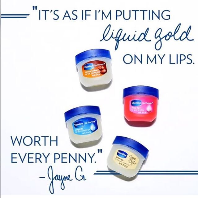 Vaseline Lip Therapy Original / Rosy Lips / Cocoa Butter / Creme Brulee - 7gr USA