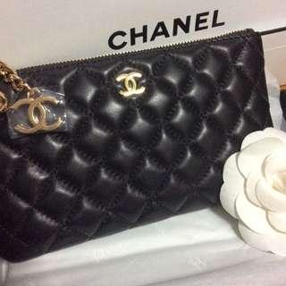 Ready Stock ‼️  Gold --2016 Premium Vanity Gift Series Chanel iPhone 6plus Coin Purse Chanel Wallet Chloe Perfume Prada Wallet