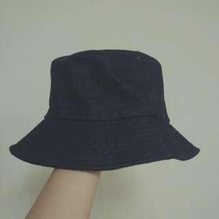 深藍色牛仔漁夫帽