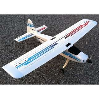 Hobbyking Flybeam Night Flyer- A Beautiful RC Plane with LEDs