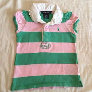 Ralph Lauren Polo Girls 2T